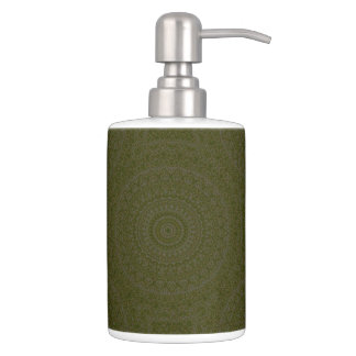 HAMbyWG - TB Holder n Soap Dispenser - Olive Boho