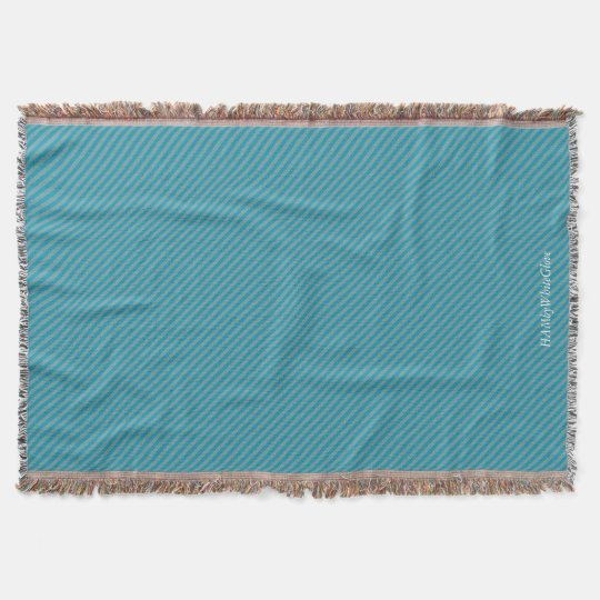 HAMbyWG - Throw Blanket - Two/Tone Teal