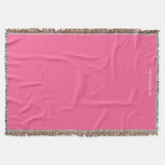 HAMbyWG - Throw Blanket - Two/Tone Watermelon Pink