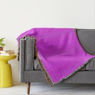 HAMbyWG - Throw Blanket - Ultra Violet Pink