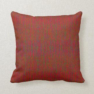 "HAMbyWG -  Throw Pillow 16"" - Crazy Red w Gr Violt"