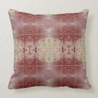 """HAMbyWG Throw Pillow 20"""" - Red Distressed"""