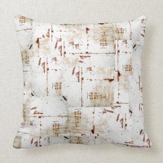 "HAMbyWG Throw Pillow 20"" - White Distressed"
