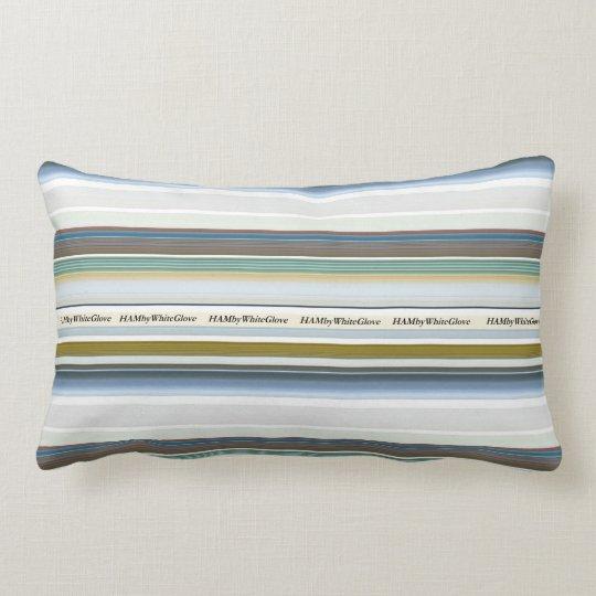 HAMbyWG - Throw Pillow - Four Fish Stripe