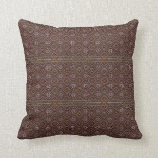 HAMbyWG - Throw Pillow - Native American Maroon