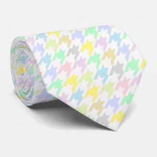 HAMbyWG - Tie - Pastel Houndstooth