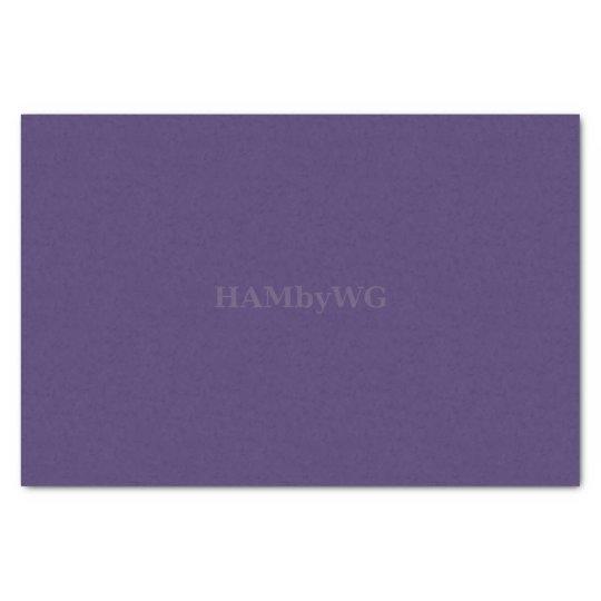 HAMbyWG - Tissue Paper -Deep Purple