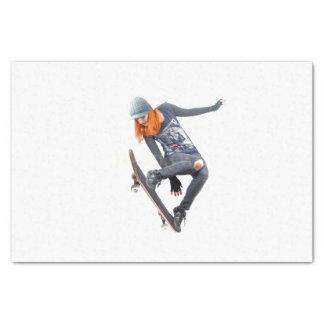 HAMbyWG - Tissue Paper - Girl Skateboarder