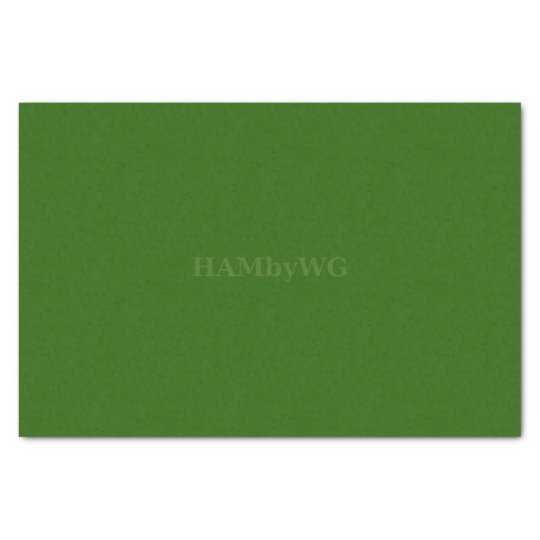 HAMbyWG - Tissue Paper - Green