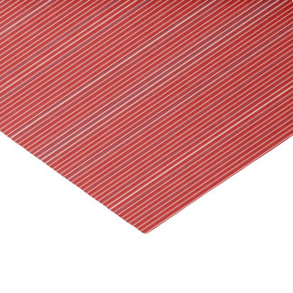 HAMbyWG - Tissue Paper -  Red Fine Stripe