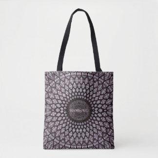 HAMbyWG - Tote Bag - Boho Indian Ink Cherry
