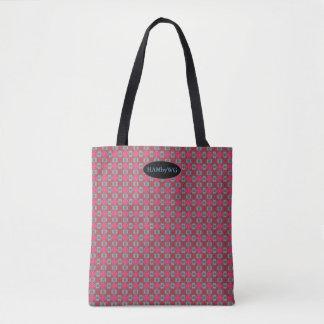 HAMbyWG - Tote Bag - Pat Pnk/R/Bl 010417919