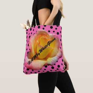 HAMbyWG - Tote Bag - Rockabilly Rose