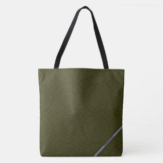 HAMbyWG - Tote Bags - Boho Ink Moss & Gray
