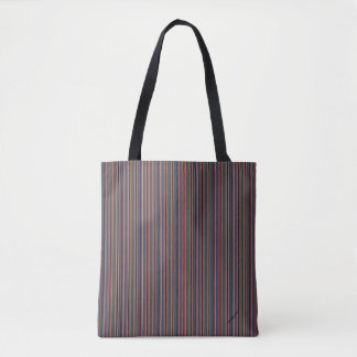 HAMbyWG - Tote Bags - Deep Colored  Fine Lines
