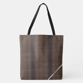HAMbyWG - Tote Bags - Natural Matchstick