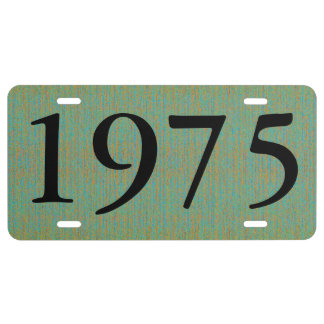 HAMbyWG - Vanity License Plate - Pale Green Mix