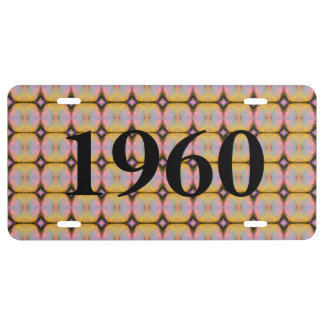 HAMbyWG -  Vanity License Plate - Yellow Pink Mix