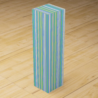 HAMbyWG - Wine Gift Box - Blue Sherbert Bar Stripe
