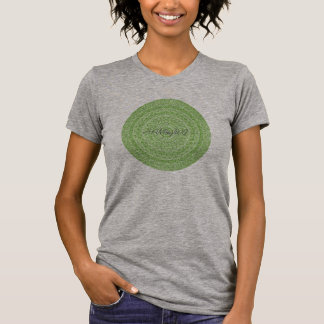HAMbyWG - Womens  Boho Circle in Lime - Nostalgic T-Shirt