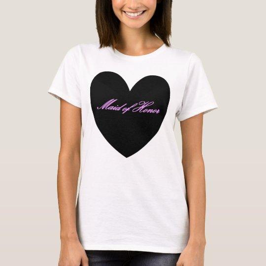 HAMbyWG - Women's T-Shirt - Maid of Honour w Heart