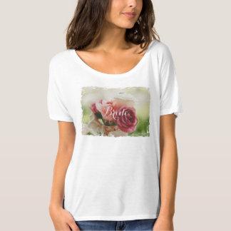HAMbyWG - Women's T-Shirt - Watercolor Roses Bride