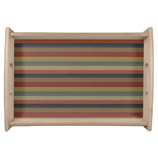 HAMbyWG - Wooden Tray - Amer-Indian Stripe