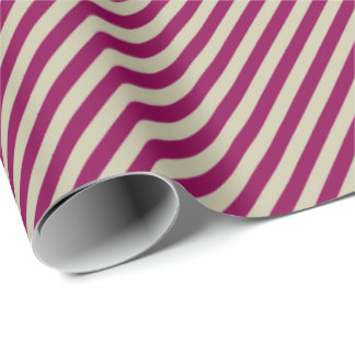 HAMbyWG Wrapping Paper - Cherry Clay Stripe