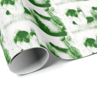 HAMbyWG - Wrapping Paper - Skateboarder Green/Wh