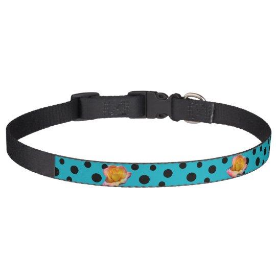 HAMbyWhiteGlove - Collar - Black Polka Dots