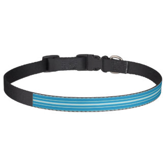 HAMbyWhiteGlove - Dog Collar - Aqua