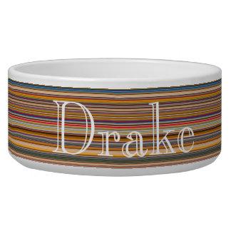 HAMbyWhiteGlove - Dog food Bowl - Crayola