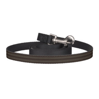 HAMbyWhiteGlove - Dog Leash - Gypsy Brown