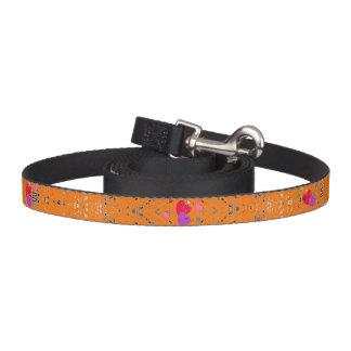 HAMbyWhiteGlove - Dog Leash - Multi-Color Hearts