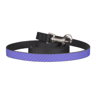 HAMbyWhiteGlove - Dog Leash - Purple Diagonal