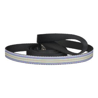 HAMbyWhiteGlove - Leash - Pale w Purple Stripe
