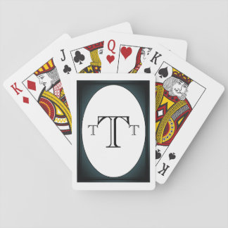"HAMbyWhiteGlove - Playing Cards - ""Fog"""