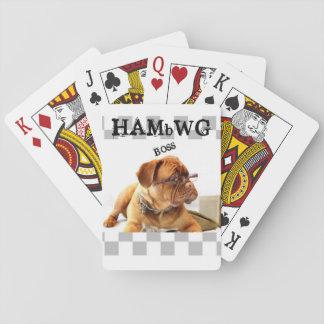 HAMbyWhiteGlove - Playing Cards - HAMbWG Bulldog