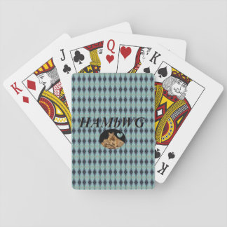 HAMbyWhiteGlove - Playing Cards - HAMbWG Diamond