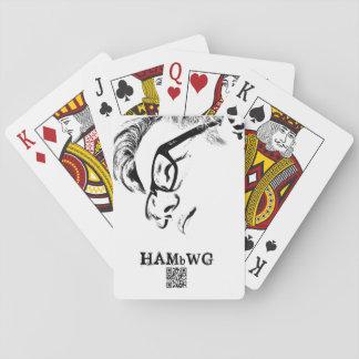 HAMbyWhiteGlove - Playing Cards - HAMbWG Hipster