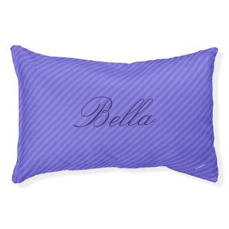 HAMbyWhiteGlove   Purple Stripe Stripe Dog Bed
