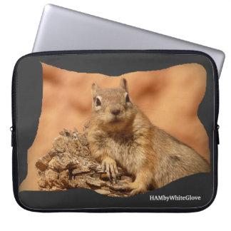 HAMbyWhiteGlove Squirrel - Laptop Sleeve