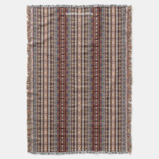 HAMbyWhiteGlove - Throw Blanket - Bohemian