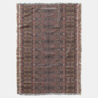 HAMbyWhiteGlove - Throw Blanket - Dark Bohemian