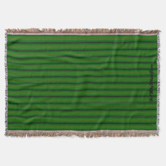 HAMbyWhiteGlove - Throw Blankets - Bright Green