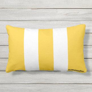 HAMbyWhiteGlove - Throw Pillow - Tangerine White
