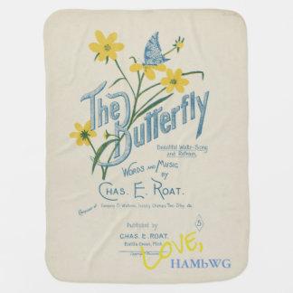HAMbyWhiteGlove - Vintage Design Baby Blankets