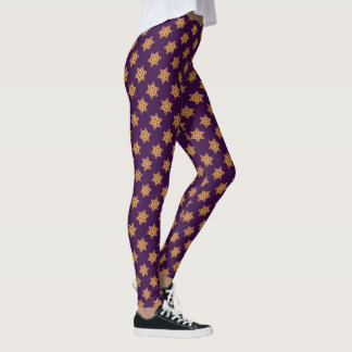 Hamentashen Star of David Leggings