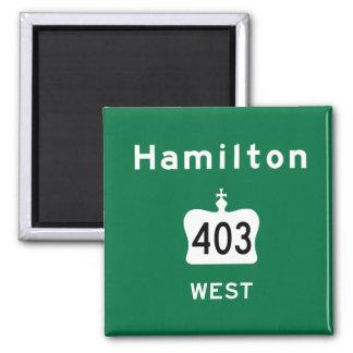 Hamilton 403 magnet