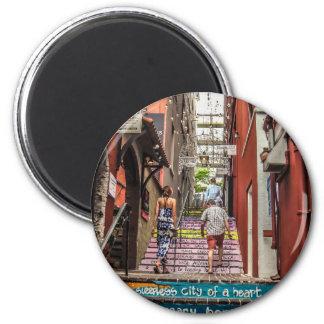 Hamilton Alley 2 Inch Round Magnet